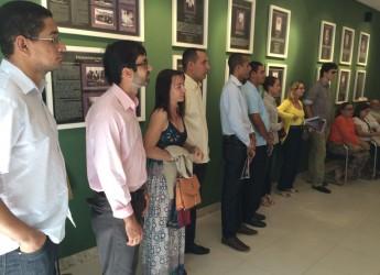Reunião com escritores que participarão da 3ª Bienal do Livro em Itabaiana