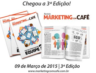3ª Edição da Revista Marketing com Café